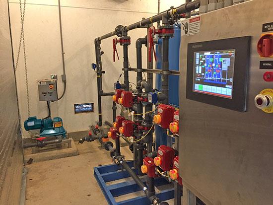 MBR pump system