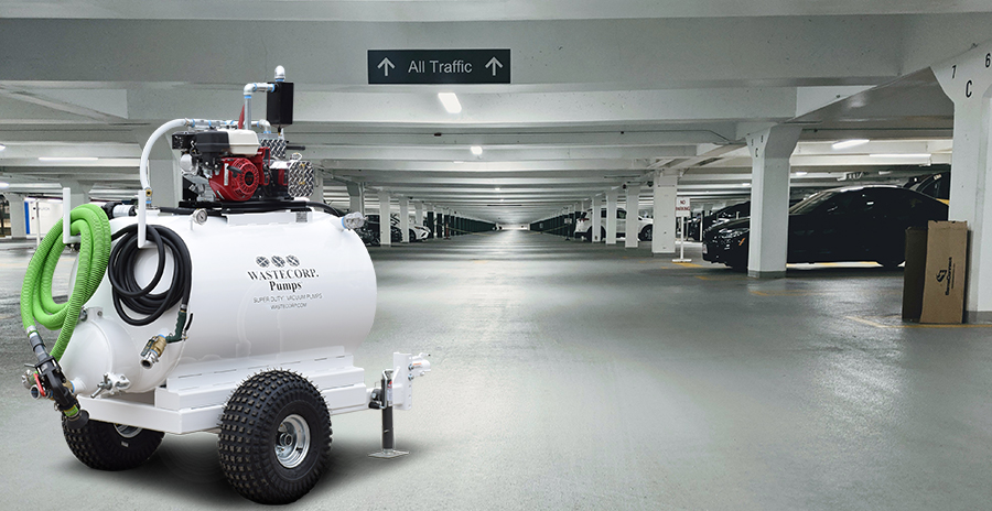 pump system for parking garages