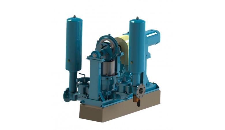 """9"""" Simplex Plunger Pump"""
