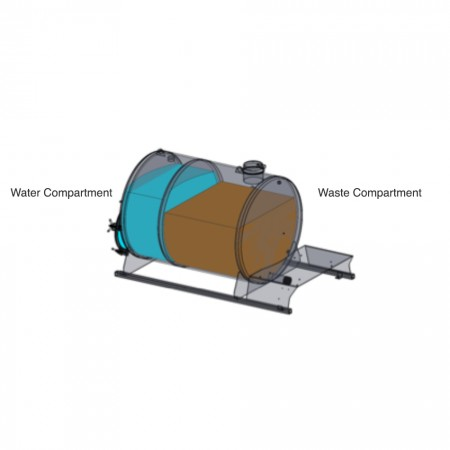 300/150 Gallon Dual Compartment Vacuum Pump