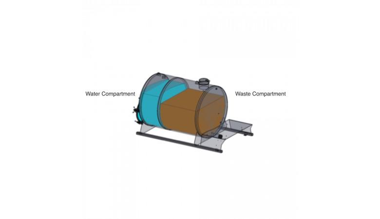 300/150 Gallon Dual Compartment Vacuum Pump