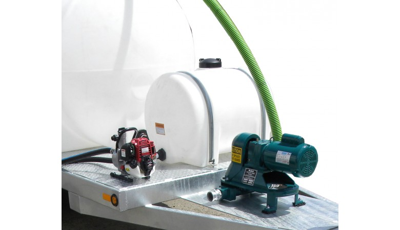 500 Gallon Dual Tank Honey Wagon