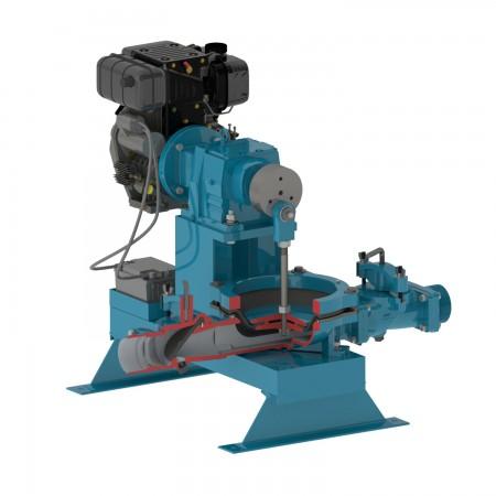 """4"""" Pro Flapper Engine Diaphragm Pump"""