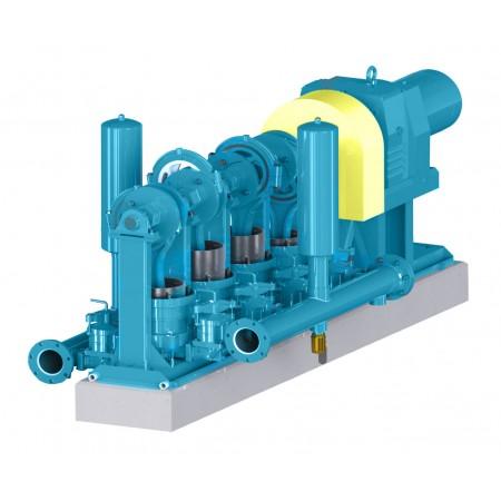"9"" Quadruplex Heavy Duty Plunger Pump"