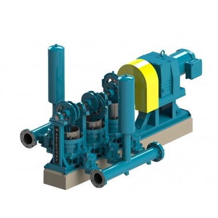 """9"""" Triplex Plunger Pump"""
