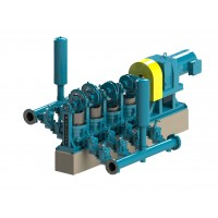 HPE 114/1144 Quadruplex Heavy Duty Plunger Pump