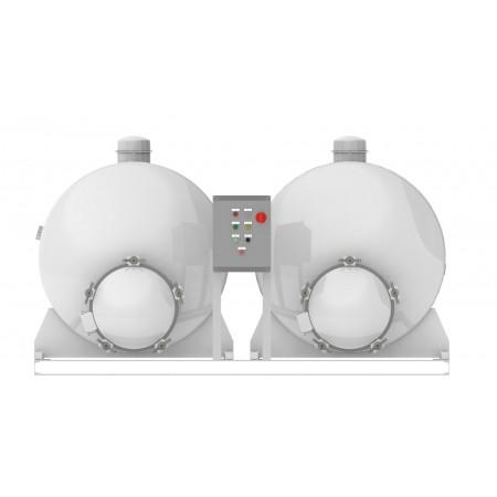Dual Tank - Vacuum Pump
