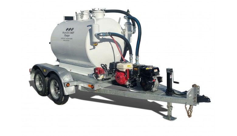 540/260 Gallon Dual Compartment Vacuum Pump
