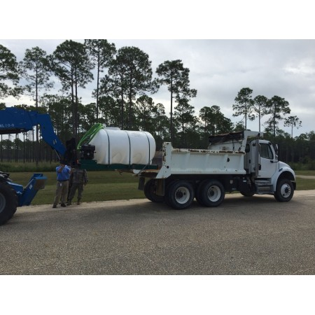 2000 Gallon Skid Mounted Water Trailer