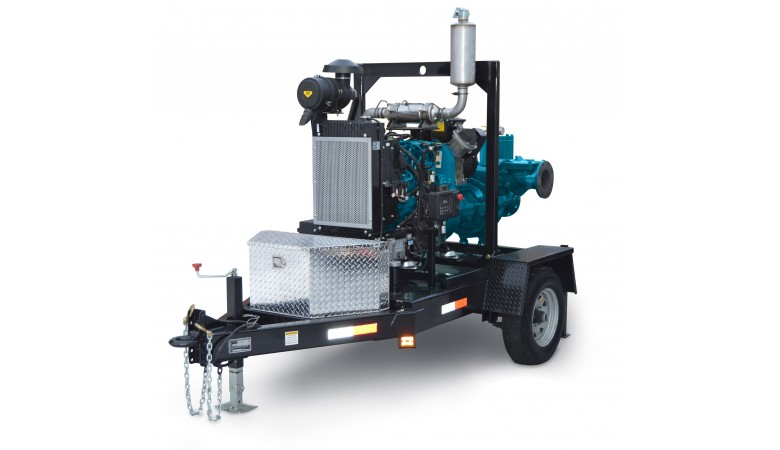 "4"" High Head Dry Prime Pump"