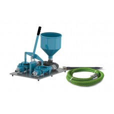 "1.5"" Double Diaphragm Grout Pump Pro Package"