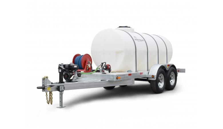 1025 Gallon Trailer Mounted Water Trailer