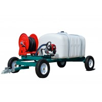 50  Gallon - 200 Gallon Water Trailers