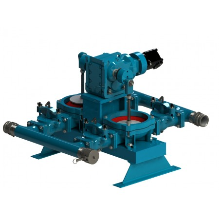 "3"" Hydraulic Pro Flapper Double Diaphragm Pump"