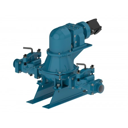 "3"" Hydraulic Pro Flapper Diaphragm Pump"