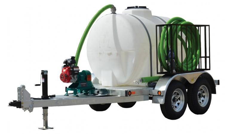 500 Gallon Honey Wagon Trailer Mounted