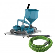 "2"" Double Diaphragm Grout Pump Pro Package"