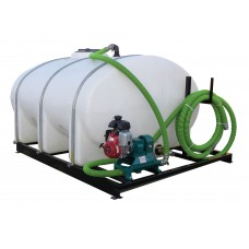 1600 Gallon Skid Mounted Water Tank