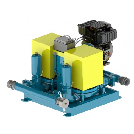 "3"" Standard Engine Double Diaphragm Pump"