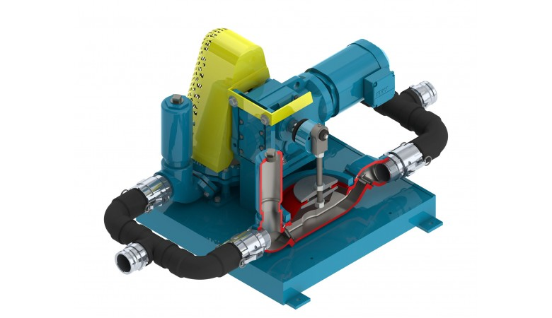 "3"" Standard Electric Double Diaphragm Pump"