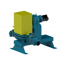 "4"" Hydraulic Pro Flapper Diaphragm Pump"