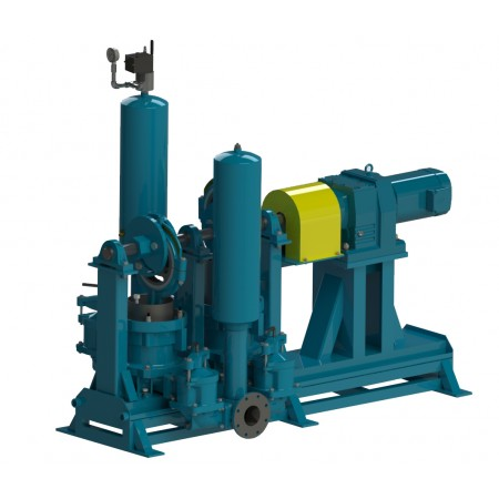 "9"" Duplex Heavy Duty Plunger Pump"