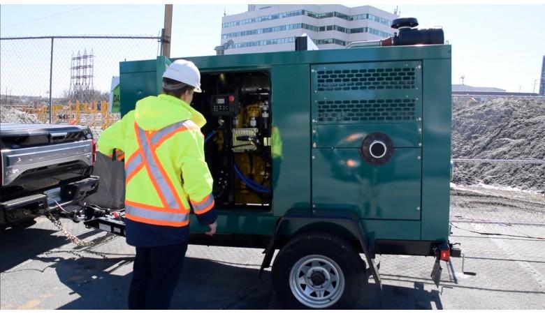 Trash Flow Silent Pump System