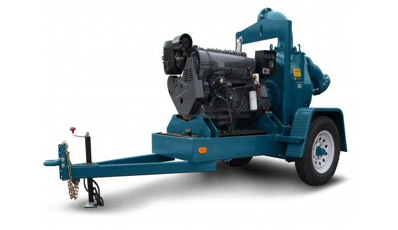 "8"" Pro Series Diesel Driven Trash Pump"