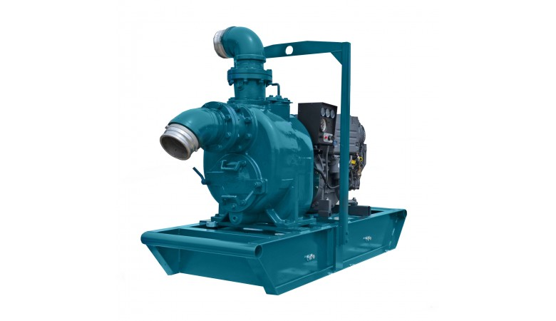 "4"" Engine Driven Trash Pump"