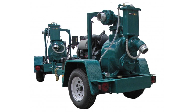 "8"" Pro Series Diesel Driven Trash Pump"