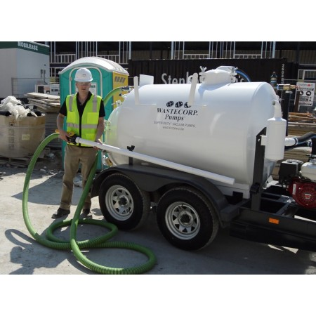 600 Gallon Trailer Mounted Vacuum Pump