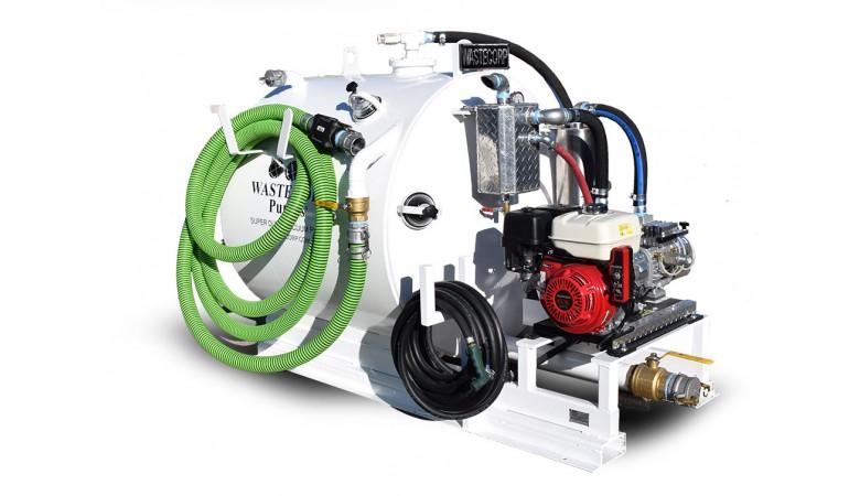 300 Gallon Skid Mounted Vacuum Pump