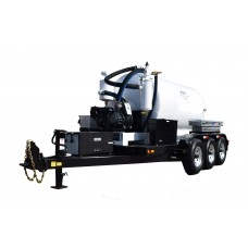 1600 Gallon Trailer Mounted Vacuum Pump