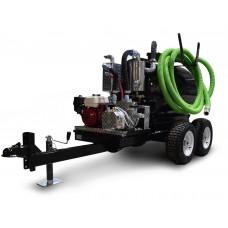 40  Gallon - 50  Gallon Vacuum Trailer