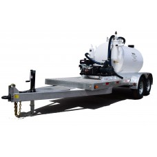 1000 Gallon Trailer Mounted Vacuum Pump