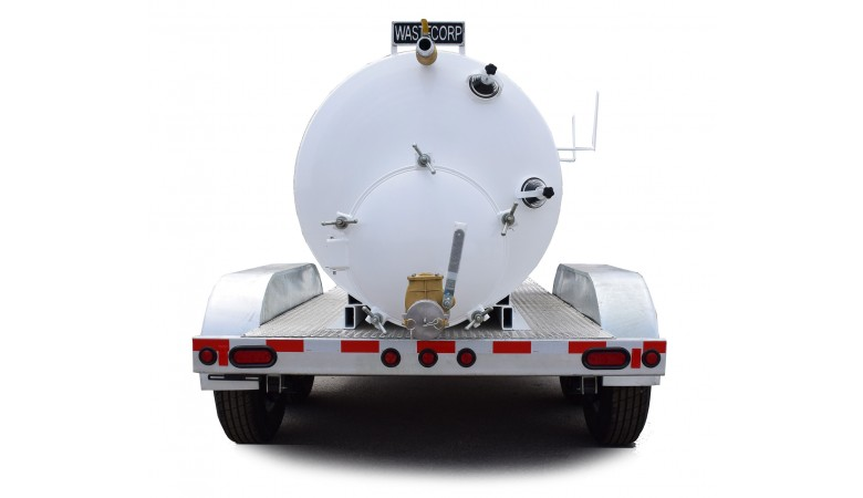 1000 Gallon Vacuum Trailer