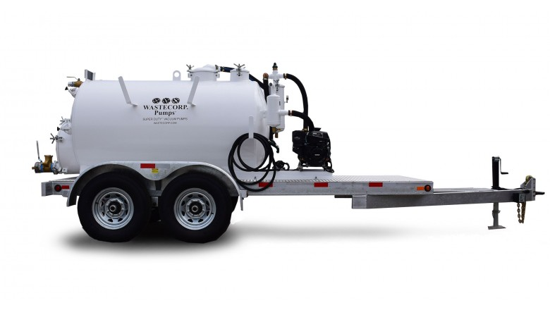 TVP-1000 Super Duty Vacuum Trailer
