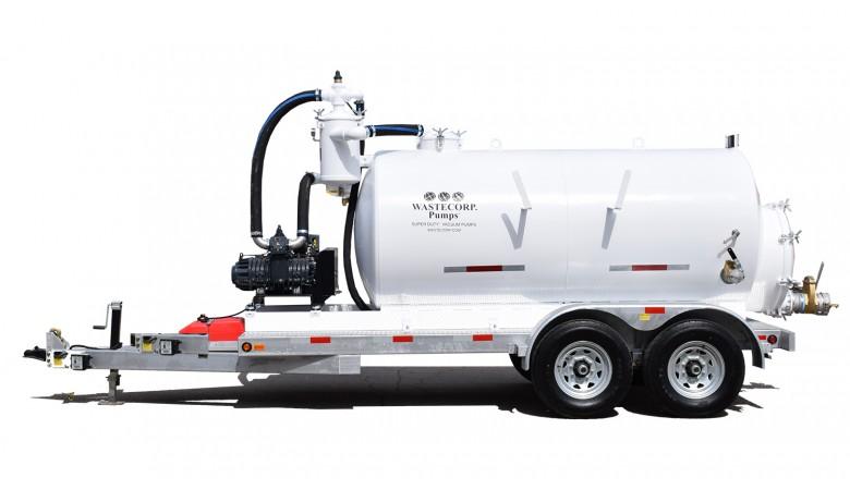 800 Gallon Vacuum Trailer
