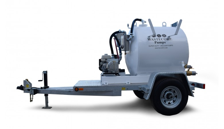 300 Gallon Vacuum Trailer