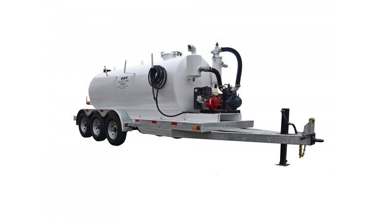 1500/100 Gallon Dual Compartment Vacuum Pump
