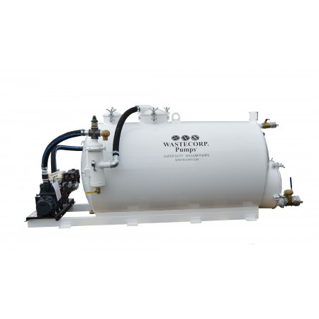 540/260 Gallon Dual Compartment Vacuum Pump