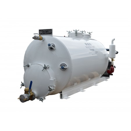 400/ 200 Gallon Dual Compartment Vacuum Pump