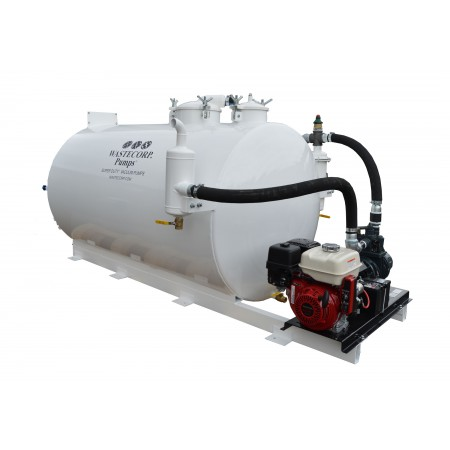 800 Gallon Skid Mounted Vacuum Pump