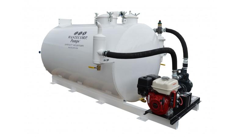 800 Gallon Skid Mounted Vacuum Pump