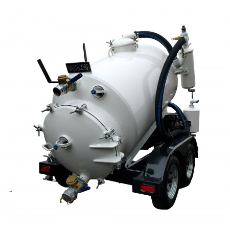 300 Gallon Trailer Mounted Vacuum Pump