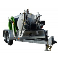 800 Gallon Trailer Mounted Vacuum Pump