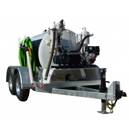 450 Gallon Trailer Mounted Vacuum Pump