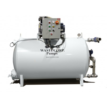 300 Gallon Skid Mounted Vacuum Pump