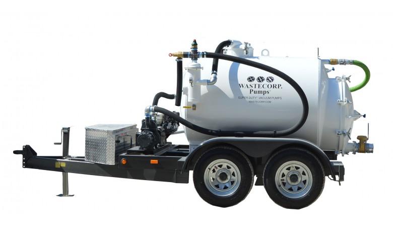 200/100 Gallon Dual Compartment Vacuum Pump