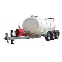 1600 Gallon Trailer Mounted Water Trailer